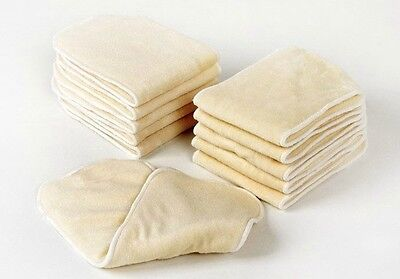4 layers High Quality Super Soft Bamboo Fiber Insert Liners For Cloth Diaper N1 on Rummage