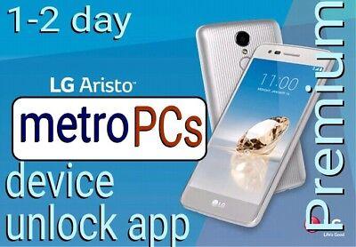 LG Metro PCs Device Unlock App Aristo x210 Ms210 Stylo MP450 Ms550 k20 MP260