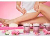 Body waxing for Female & Male, Facial, body scrub, Massage