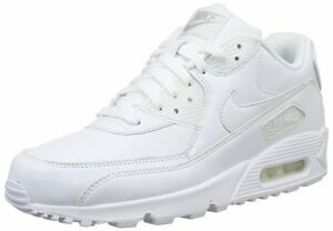 White - Nike Air Max 90 Leather - Mens Size 8 - Brand New