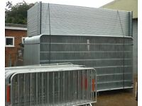 New - Heras security fence panels x 150