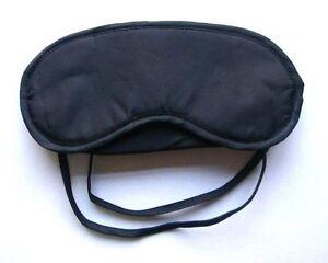 masque pour les yeux bandeau pour dormir en voyage occultation 80 ebay. Black Bedroom Furniture Sets. Home Design Ideas