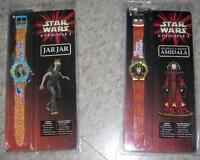 Star Wars Watches - New - Jar Jar & Queen Amidala - $10 Each