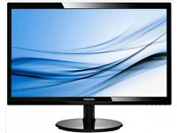 24-inch Philips Full HD (1920 x 1080)LED Monitor - Black