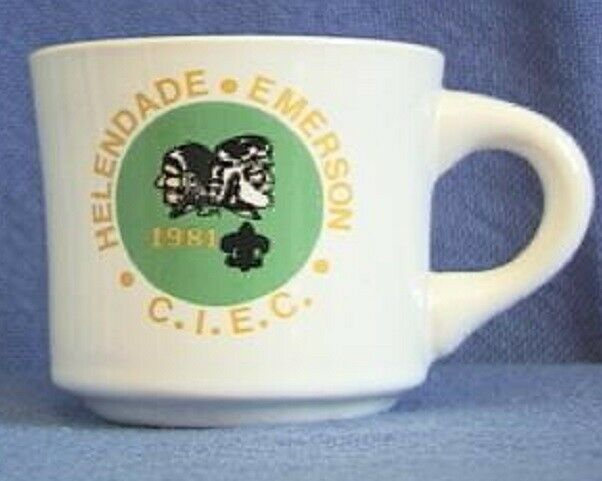BSA Mug CIEC Camp Helendade Emerson 1981 - California Inland Empire Council