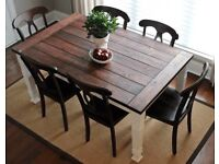 Farmhouse Style Dining Table Made To Order