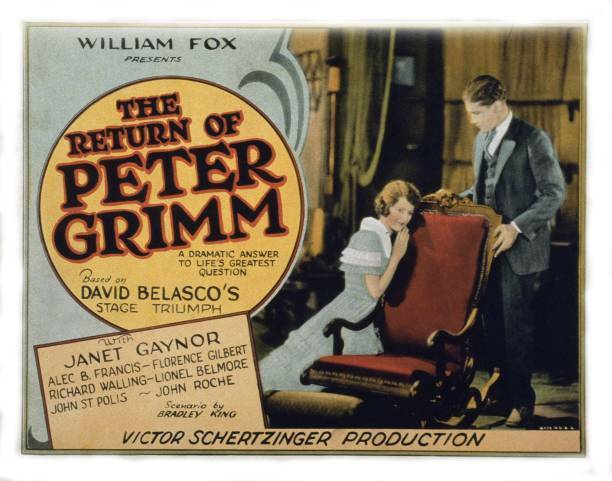 OLD MOVIE PHOTO The Return Of Peter Grimm Us Lobby Card Janet Gaynor Richard