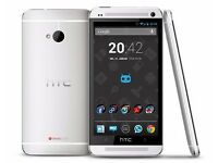 HTC one, 32gb, silver, unlocked, £110 fixed price