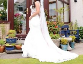 Essence of Australia Fishtail low back wedding dress