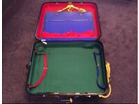 Iconic Benetton suitcase