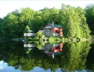 Waterfront Cottage 55 min from downtown Ottawa