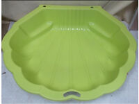 New Green Shell Sand Pit / Water Pit / Paddling Pool