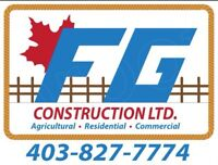 Agricultural and Residential company available for new projects