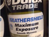 Dulux Trade Weathershield Smooth Masonry Light 5L