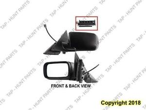 Door Mirror Power Driver Side Heated Sedan BMW 3-Series (E46) 1999-2005
