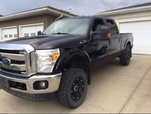 2013 F250 Super Duty Crew Cab Lariat  -6.2 gas-open to offers