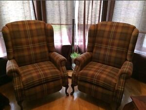 2 Recliners excellent condition
