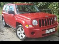 Jeep Patriot 2.2 Sport Diesel 4x4 4WD, 2011/60 161BHP, SMART 4WD System, MOT Sept 21
