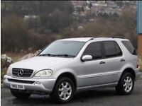 +++Mercedes-Benz M Class 2.7 ML270 CDI 5dr +++4x4 DIESEL AUTOMATIC!+++