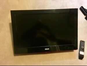 "26"" RCA TV & wall mount."