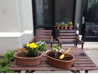 """Ensemble table de jardin """"set de patio"""""""