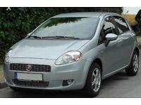 Grey Fiat Punto Grande
