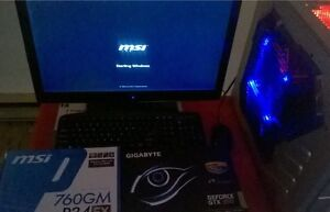 selling desktop gaming pc, FX-8320, GTX 960 2G, 8G DDR3, 1T HDD