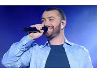 2 SPARES FOR SAM SMITH – O2 ARENA – FRIDAY 6TH APRIL 2018