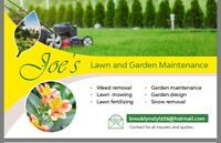 Lawn and garden maintenance/Snow removal
