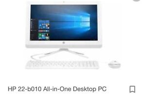 Hp all in one desktop