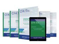 2020 CFA Level 1, 2, 3 Curriculum Schweser, Qbank, Notes, Pape