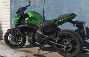 2015 ER6N Kawasaki 650. Only 1939kms and has extended warranty!