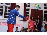 Kids Entertainer & Magician - DBS checked - Years of experience - London