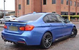 BMW rear diffuser