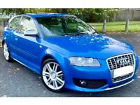 Audi S3 2.0 16v Turbo charged 265 Bhp Hpi Clear Fully loaded Great condition (2007 57)