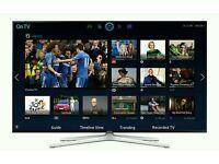"Samsung 40"" LED smart wi-fi tv builtin USB media player HD freeview tv fullhd"