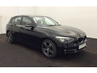 £228.96 PER MONTH 2014 BMW 118 2.0TD SPORT - 5 DOOR - DIESEL - MANUAL