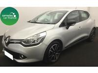 £173.16 PER MONTH SILVER 2014 RENAULT CLIO 1.5 DYNAMIQUE MEDIA NAV DIESEL MANUAL