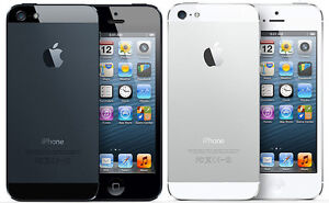 iphone5 16gb work with bell and virgin with box $175