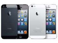 APPLE IPHONE 5 UNLOCKED MINT CONDITION COMES WITH WARRANTY & RECEIPT