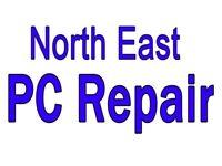 North East PC Repair .. Computer & laptop repair, Apple iPad & iPhone repair/screen replacement