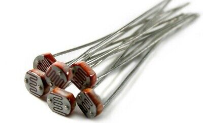 20 Pc 5mm Photoresistor Gl5528 Ldr Photo Resistor - Usa Soldship