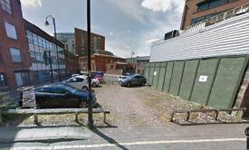 Manchester Car parking nr. Hilton. £90pm. Great location. Low rent.