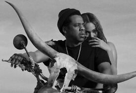 Beyoncé Jay Z - on the run 2 tour tickets - Block 105 Row N - Great Lower Tier Seats! Sold out!!!