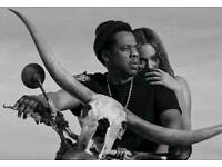 2x Jay Z and Beyonce OTR II tickets- Friday 15th May London