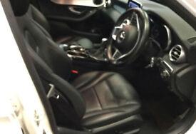 WHITE MERCEDES-BENZ C220 C250 D AMG LINE SPORT SE PREMIUM PLUS £83 PER WEEK