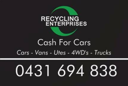 Buying Cars for Scrap - Cash for Cars