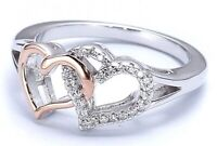 Brand new hearts ring size 7