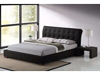 Brand NEW in BOX King size faux bedframe