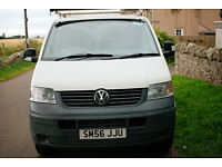 Vw Transporter Volkswagen t5 1.9tdi Panel Van, no VAT to pay. New turbo and t.belt. Roof rack incl.